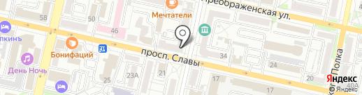 Двери Белоруссии на карте Белгорода