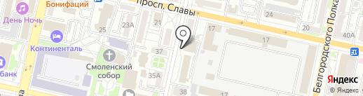 ЭКСПЕРТНО-ТЕХНИЧЕСКОЕ БЮРО на карте Белгорода