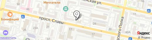 Творческо-архитектурная мастерская на карте Белгорода