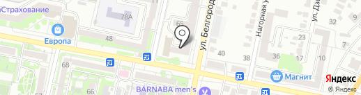 Стоматологический кабинет на карте Белгорода