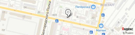 Квартира31 на карте Белгорода
