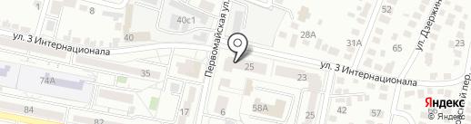 ВОДОКАНАЛ-31 на карте Белгорода