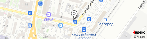 Каза Мия на карте Белгорода