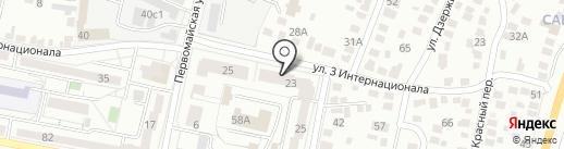 Eauto31 на карте Белгорода