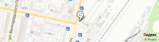 Мастерская по ремонту сотовых телефонов и цифровой техники на карте Белгорода