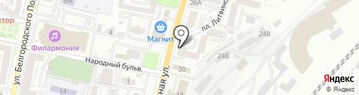 Вофф-дизайн на карте Белгорода