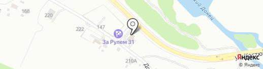 Автокомплекс на карте Белгорода