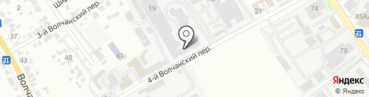 Биант на карте Белгорода