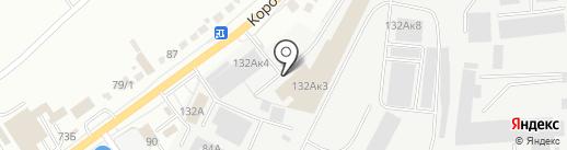 ХИМТЕК на карте Белгорода