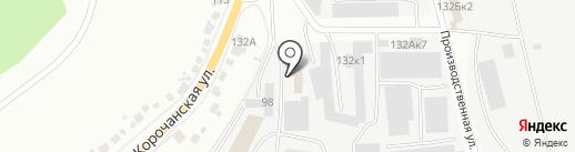 Компания по вывозу вторичного сырья на карте Белгорода