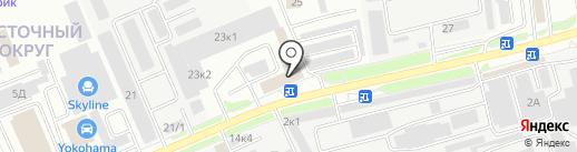 Веза на карте Белгорода
