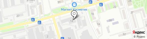 Белгородские молочные продукты на карте Белгорода