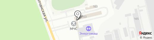 Единая служба спасения по Белгородской области на карте Белгорода