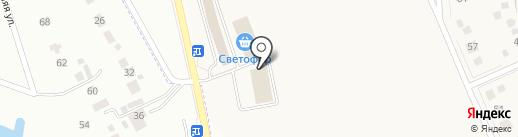 Урожай на карте Новосадового