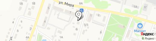 ОЛЛИ на карте Новосадового