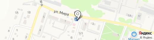 Продуктовый магазин на карте Новосадового