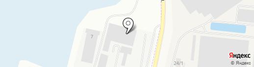 Завод упаковочных материалов Белгородский, ЗАО на карте Белгорода