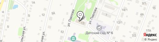 Новосадовский дом культуры на карте Новосадового