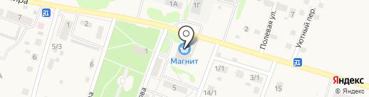 Магнит на карте Новосадового
