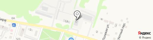 Белстальконструкция на карте Новосадового