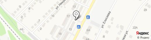 Магазин продуктов на карте Разумного
