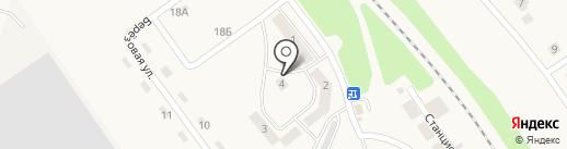 Берёзка на карте Разумного
