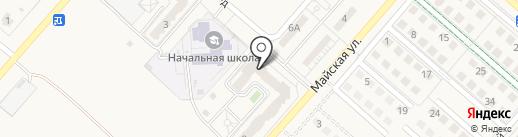 Домостроительная компания на карте Новосадового