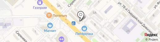 Магазин мебели на карте Разумного
