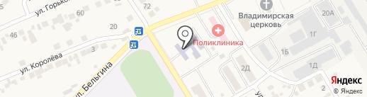 Детский сад №18 на карте Разумного