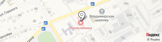 Разуменская врачебная амбулатория на карте Разумного