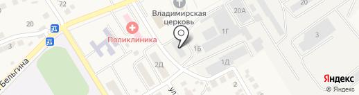 Комплексный центр социального обслуживания населения на карте Разумного