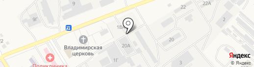 ДиК на карте Разумного