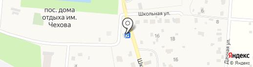 Магадан на карте Пионерского