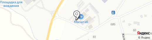 Стройкомплект на карте Лучинского