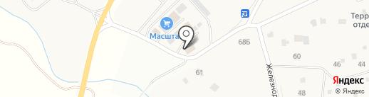 Лучинское на карте Лучинского