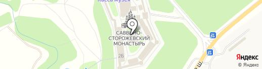 Собор Рождества Пресвятой Богородицы на карте Звенигорода