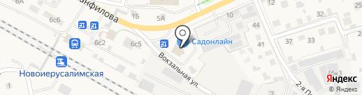 АлгориТМ на карте Истры