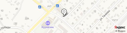 Нано-Фарм на карте Звенигорода