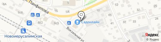 Coffee Street на карте Истры