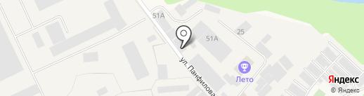 Русские Стеклопакеты, ЗАО на карте Истры