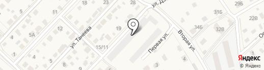 Квартал на карте Звенигорода