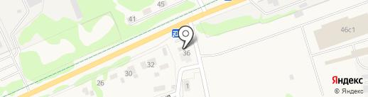 Продуктовый магазин на карте Истры