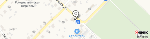 Заречье на карте Звенигорода