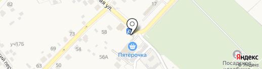 Цветы на карте Звенигорода