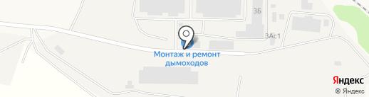 Косан на карте Истры