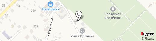 Отдел вневедомственной охраны по городскому округу Звенигород на карте Звенигорода