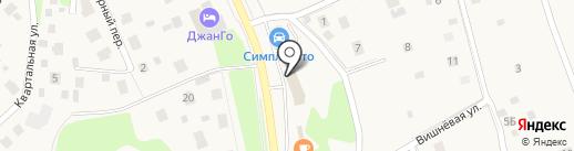 Магнит-Косметик на карте Северного