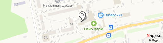 Почтовое отделение №143060 на карте Часцов