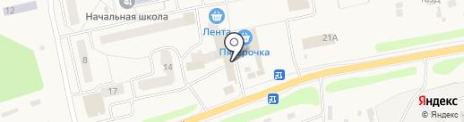 Магазин фастфудной продукции на карте Часцов