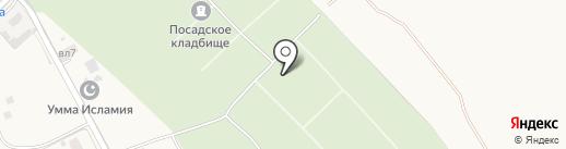 Храм Воскресения Христова на карте Звенигорода